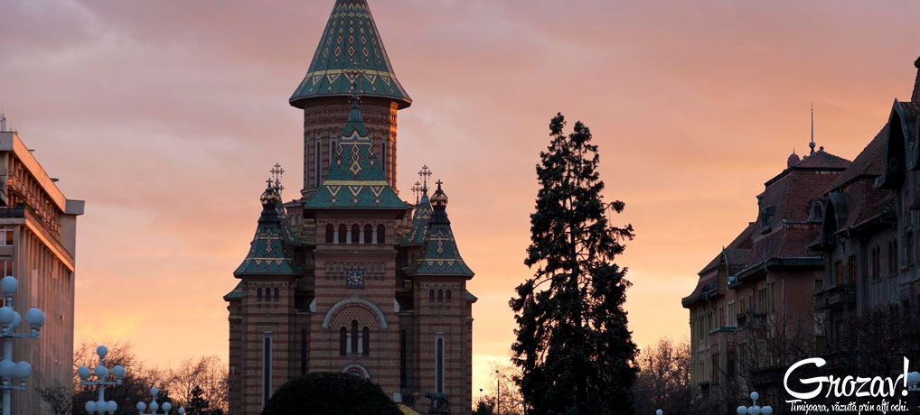 Catedrala Mitropolitana Timisoara grozav