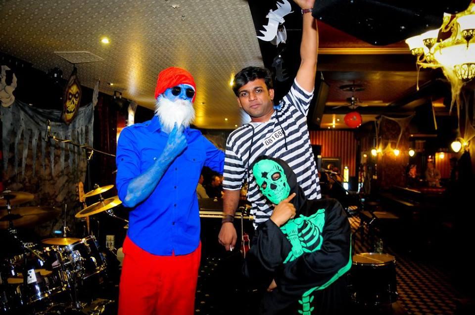 Petrecere de Halloween la The Note Pub