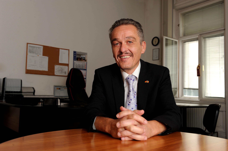 Siegfried Geilhausen - Vice-consulul Germaniei la Timisoara