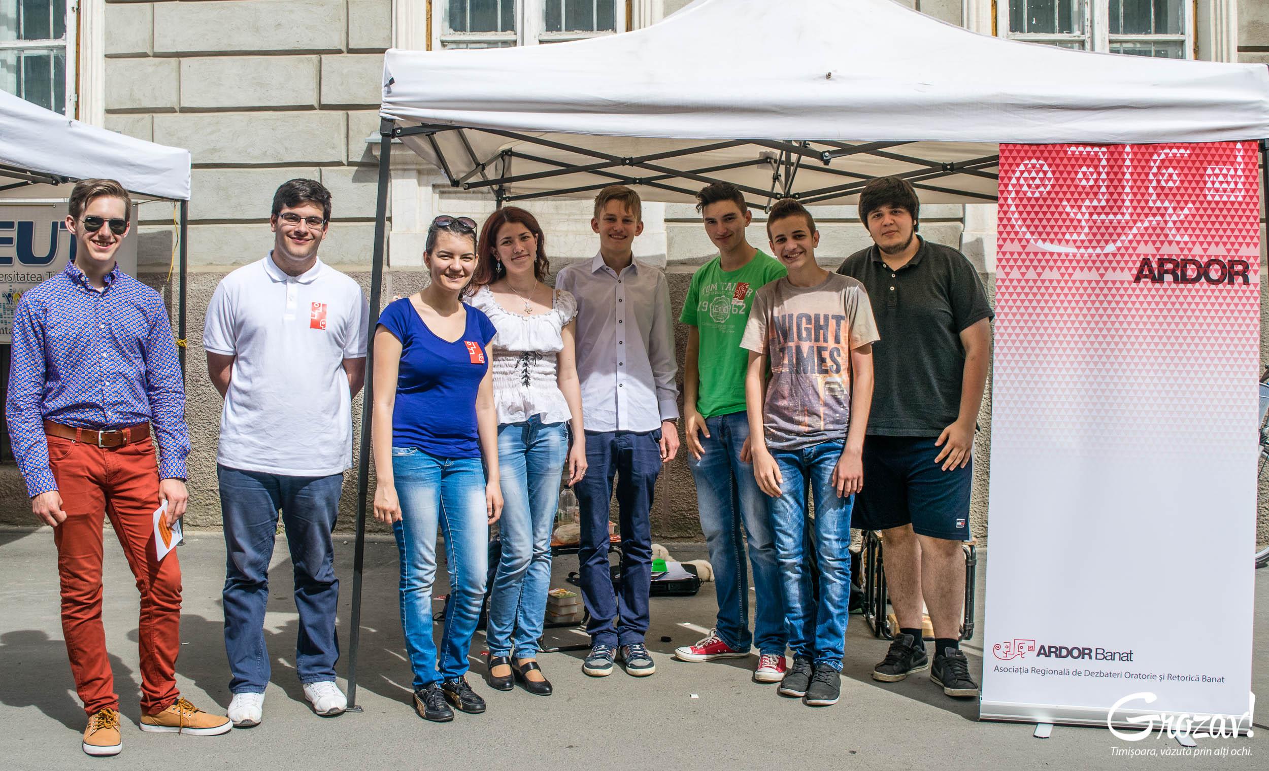 ARDOR Timisoara Targul ONG-urilor grozav