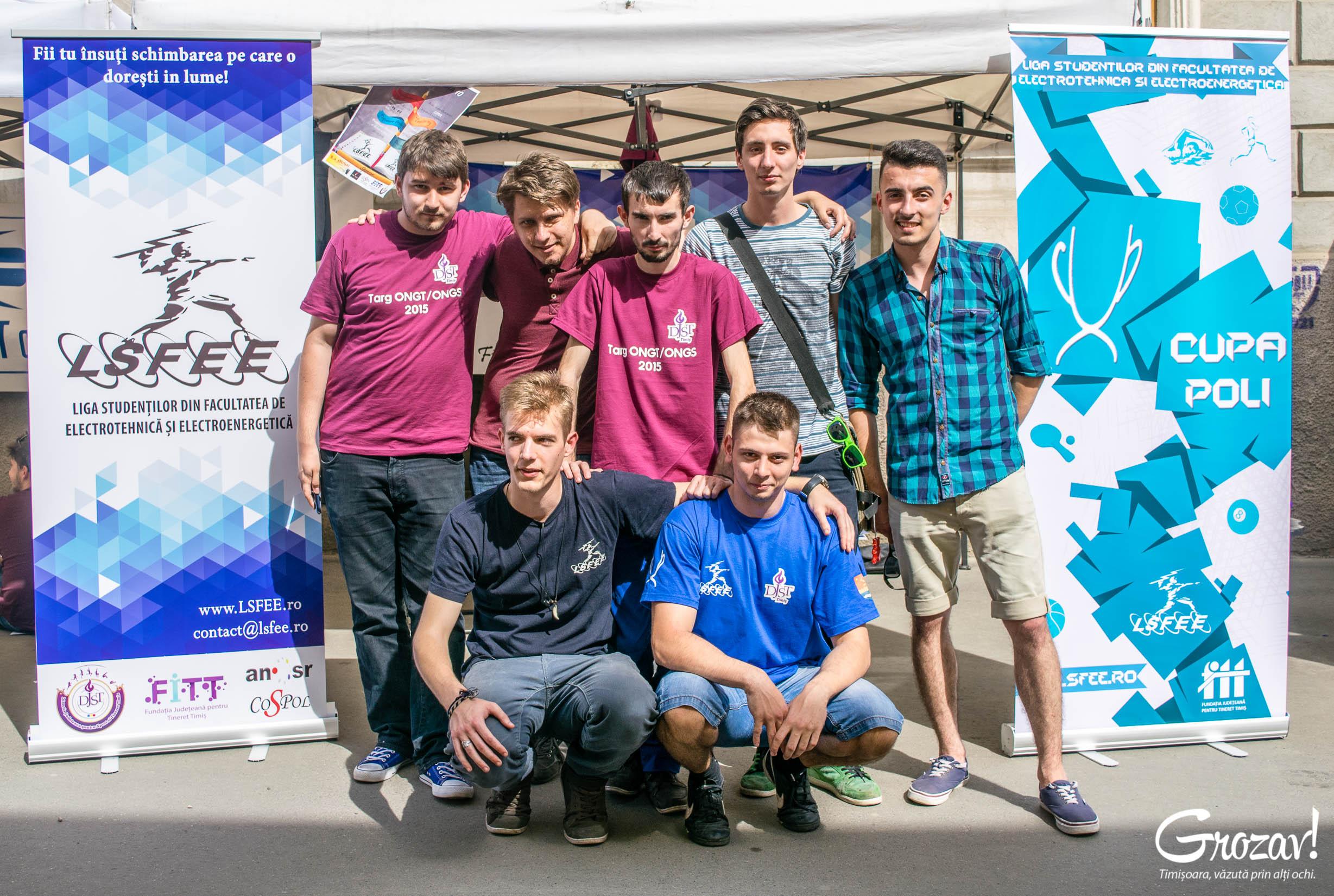 LSFEE Timisoara Targul ONG-urilor grozav
