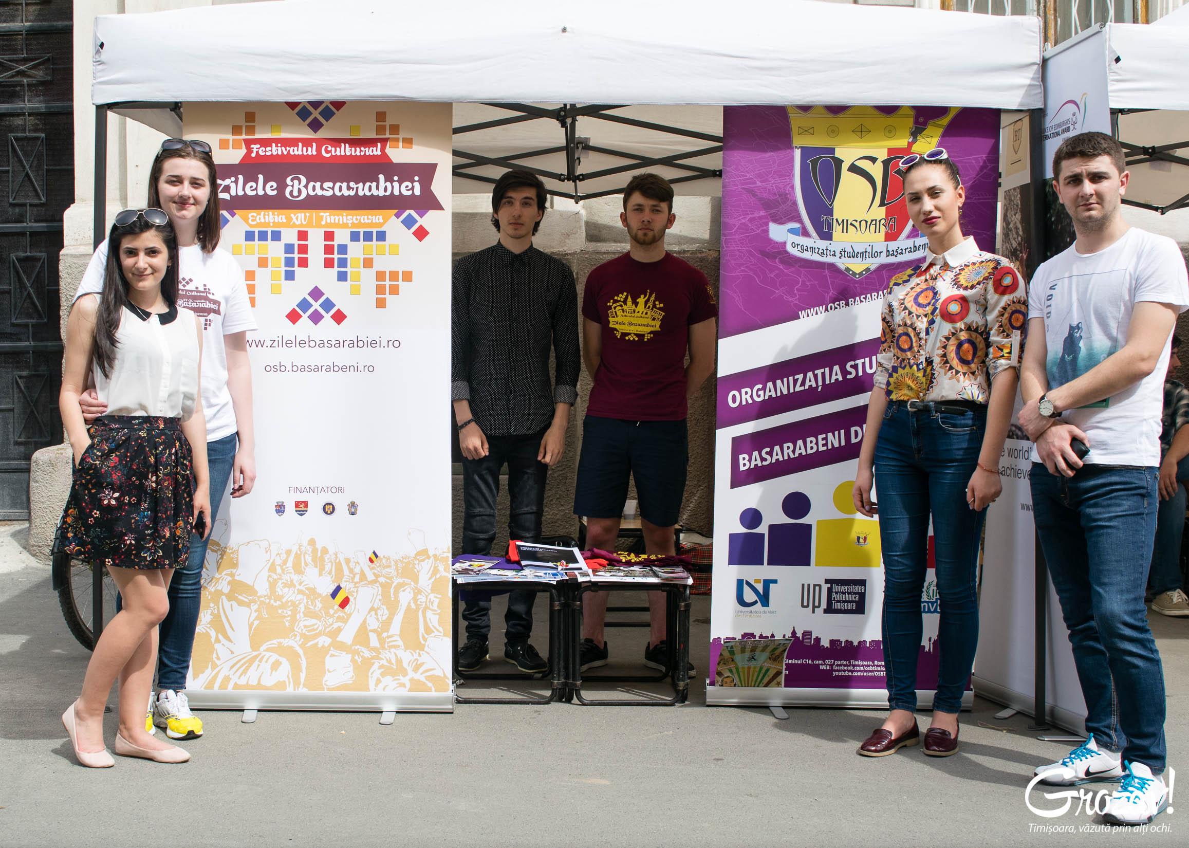 Organizatia Studentilor Basarabeni Targul ONG-urilor grozav