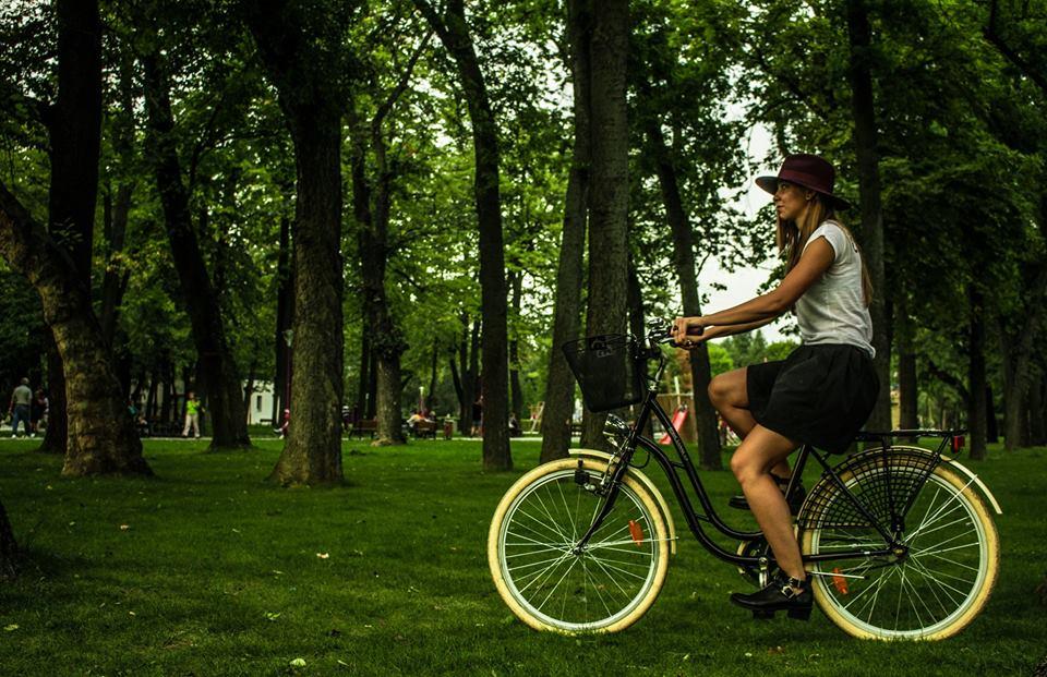 Timeea Diosi Timisoara Grozav Mers pe Bicicleta