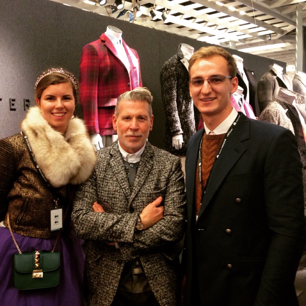 Mihai Herman si Roswitha la Milan Fashion Week